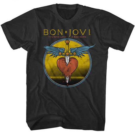 Bon Jovi-Bad Name-Black t-shirt