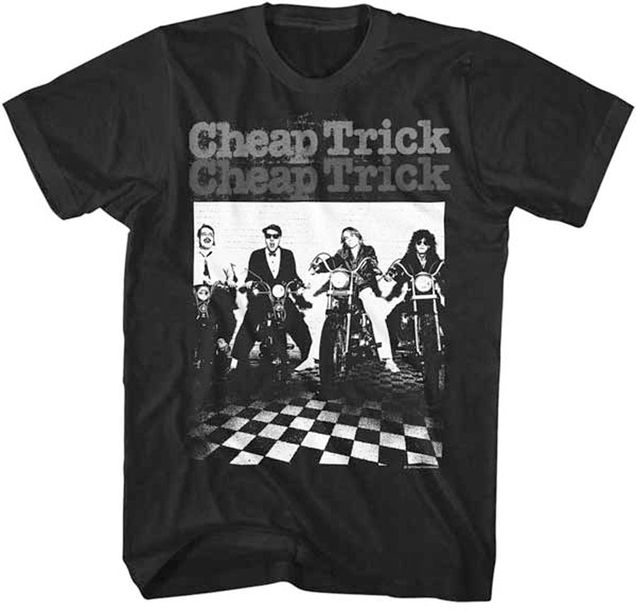 Cheap Trick-MOTO-Black t-shirt