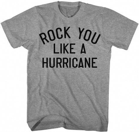 Scorpions-Rock You Like A Hurricane-Graphite Heather t-shirt