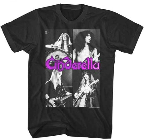 Cinderella - Quarters - Black t-shirt