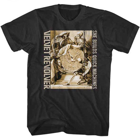 Velvet Revolver-Quick Machines-Black t-shirt