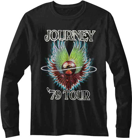 Journey-79 Tour-Longsleeve Black t-shirt
