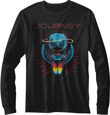 Journey-Beetle Planet-Longsleeve Black t-shirt