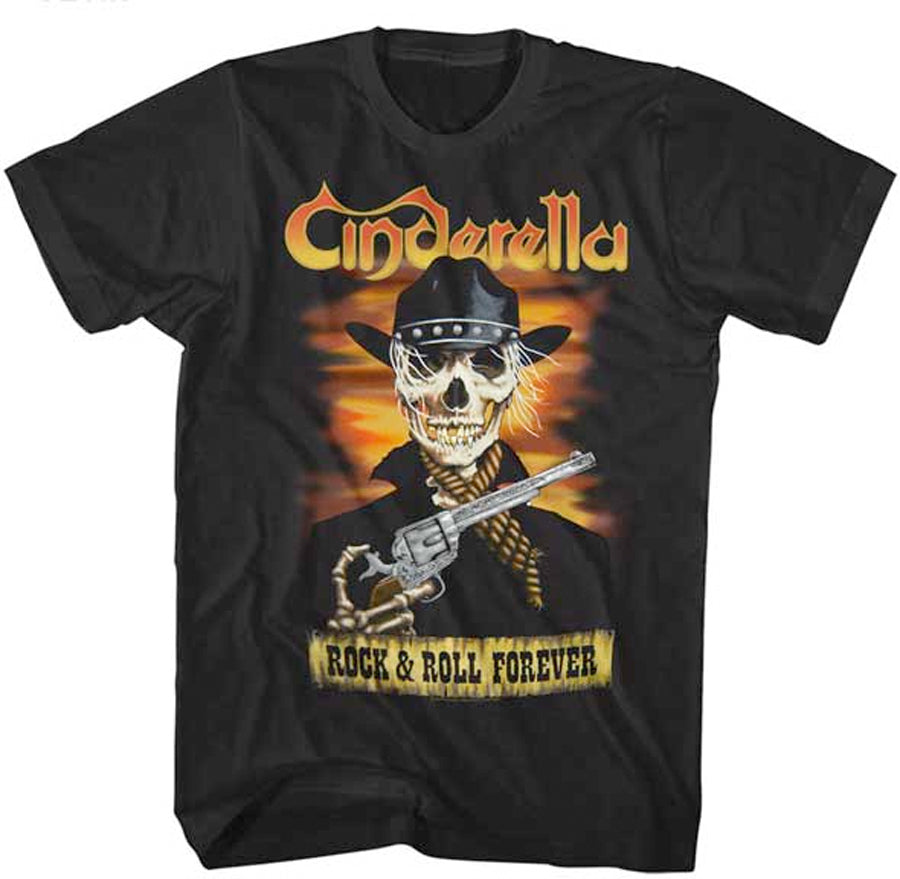 Cinderella-Skelerella-Black T-shirt