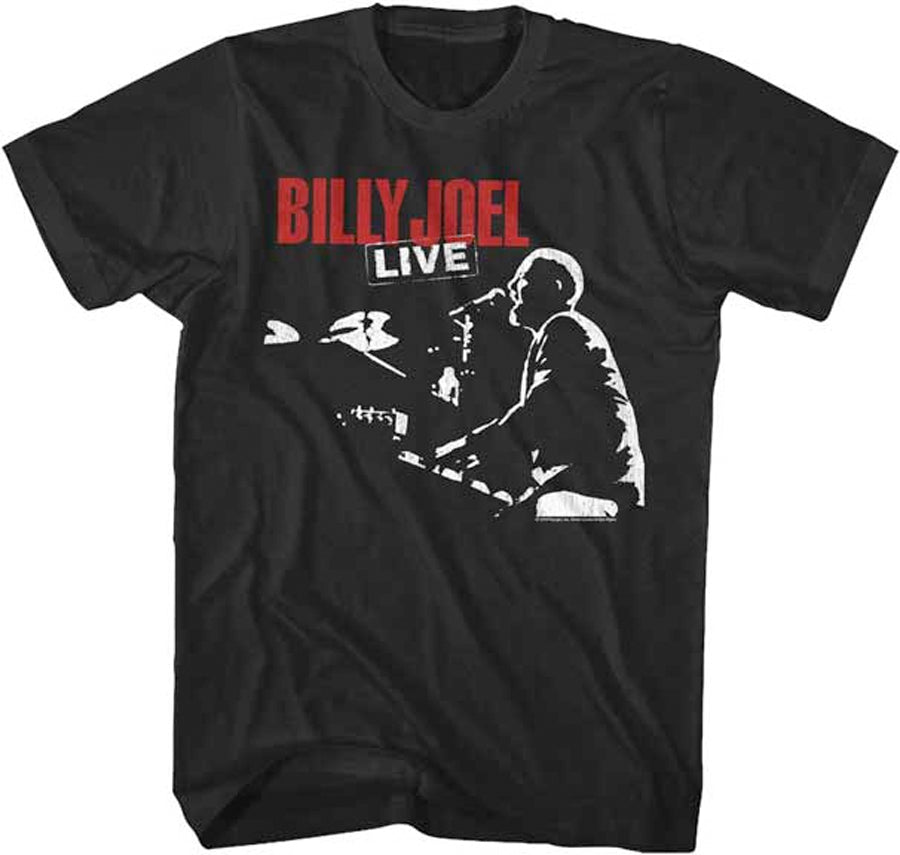 Billy Joel - Live 81 Tour - Black t-shirt