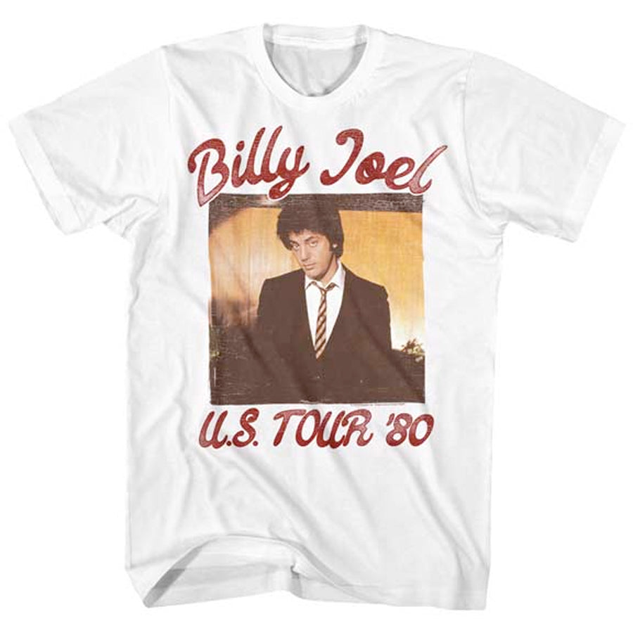 Billy Joel - Live 81 Tour - White t-shirt