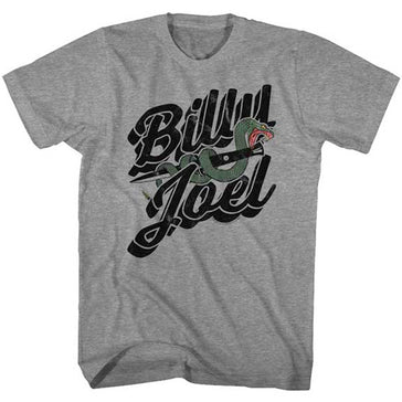 Billy Joel - Only The Good - Graphite Heather t-shirt