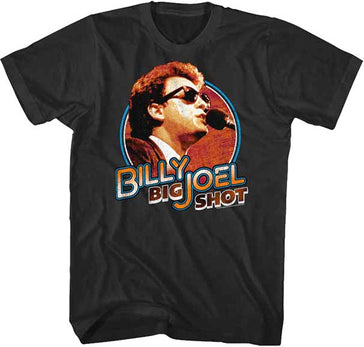 Billy Joel - Big Shot - Black t-shirt