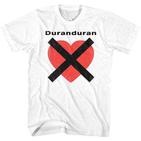 Duran Duran - Heart X - White t-shirt