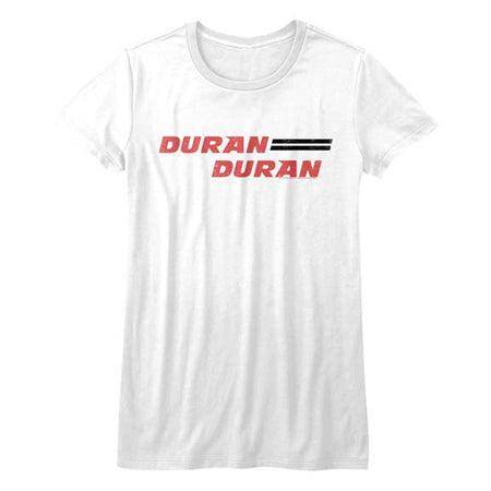 Duran Duran - Logo - Girl's Junior White t-shirt