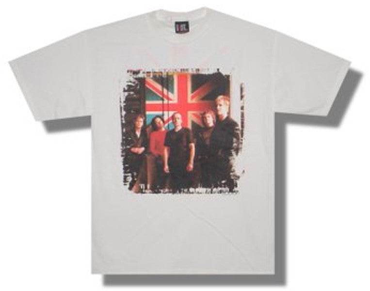 Def Leppard  Patriot Games white t-shirt