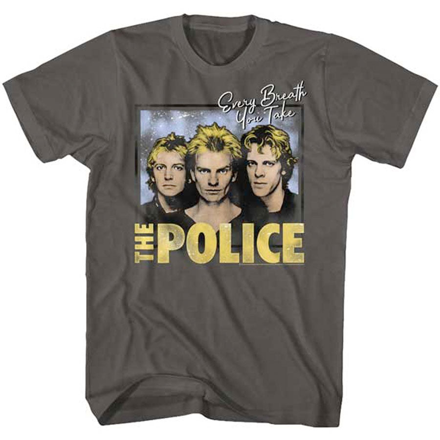 The Police - Every Breath You Take - Smoke t-shirt