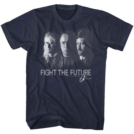 The X-Files - Fight The Future - Navy t-shirt
