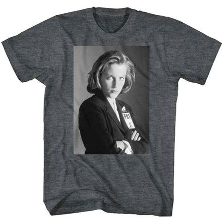 The X-Files - Scully - Black Heather t-shirt