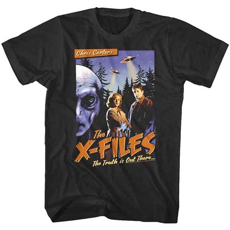 The X-Files - Old Movie Poster - Black t-shirt