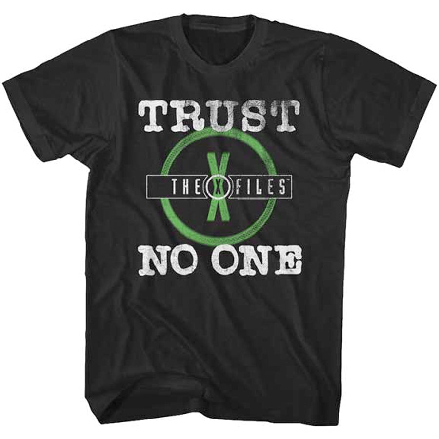 The X-Files - No Trust - Black t-shirt