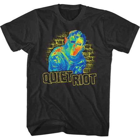 Quiet Riot - Thermal Riot - Black t-shirt