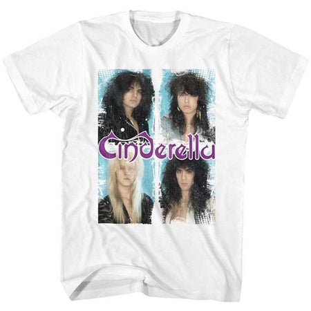 Cinderella - Boxed In - White t-shirt