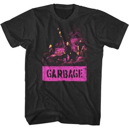 Garbage - Grunge - Black t-shirt