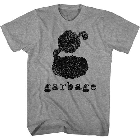 Garbage - Big G Logo - Graphite Heather t-shirt