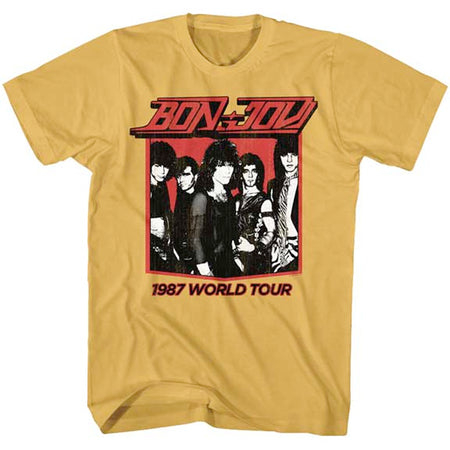 Bon Jovi - 1987 World Tour - Ginger t-shirt