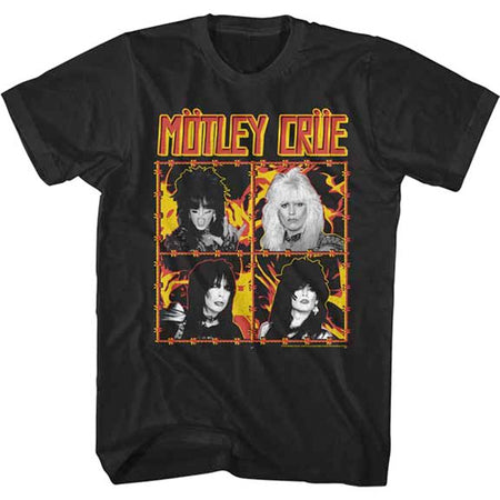 Motley Crue - Fire and Wire - Black t-shirt