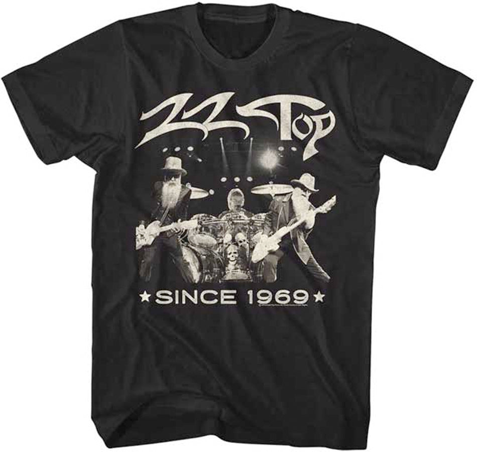 ZZ Top - Since 1969 - Black t-shirt
