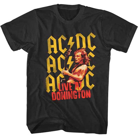 AC/DC - Donnington -  Black  t-shirt