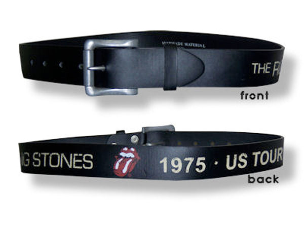Rolling Stones - Distressed US 1975 Tour - Leather Belt