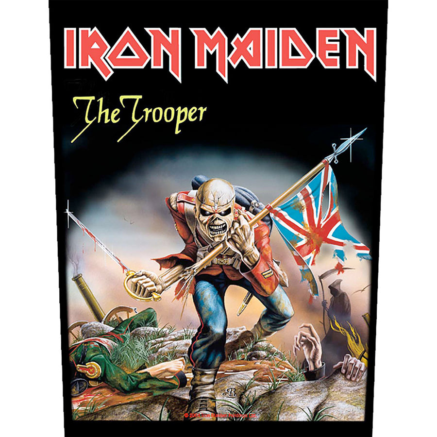 Iron Maiden - The Trooper - Back Patch