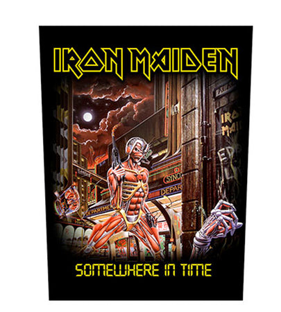 Iron Maiden - Somewhere In Time - Back Patch