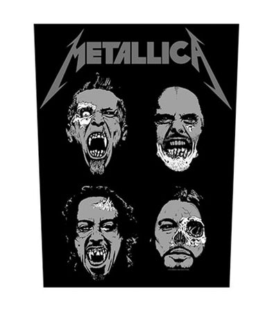 Metallica - Undead - Back Patch
