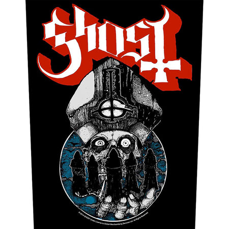 Ghost - Papa Warriors - Back Patch