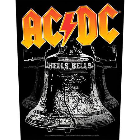AC/DC - Hells Bells - Back Patch