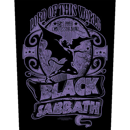 Black Sabbath - Lord Of This World - Back Patch