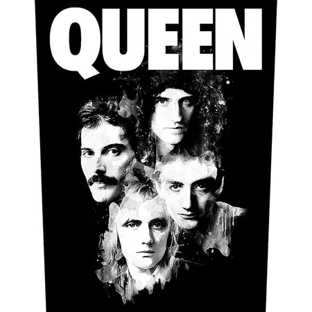 Queen - Faces - Back Patch