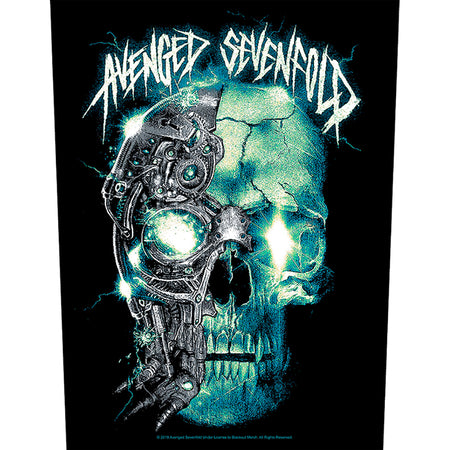 Avenged Sevenfold - Mechanical Skull - Back Patch