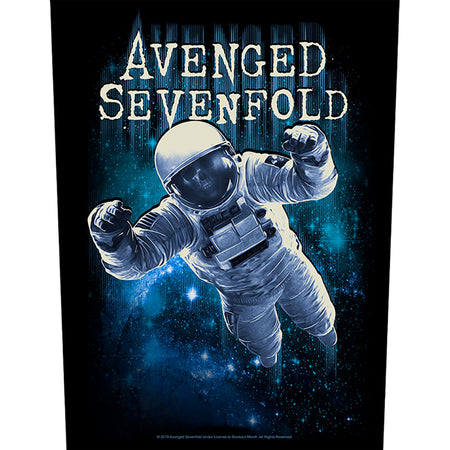 Avenged Sevenfold - Astronaut - Back Patch