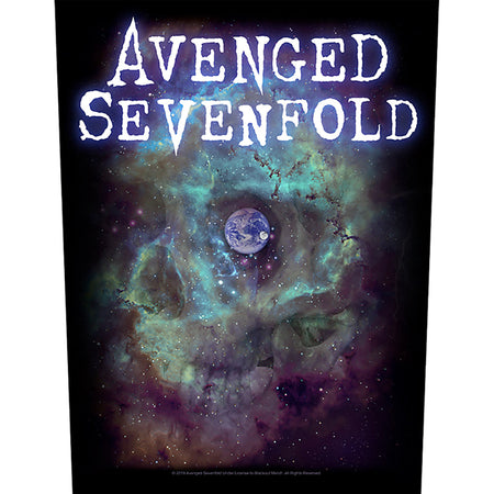 Avenged Sevenfold - Nebula - Back Patch
