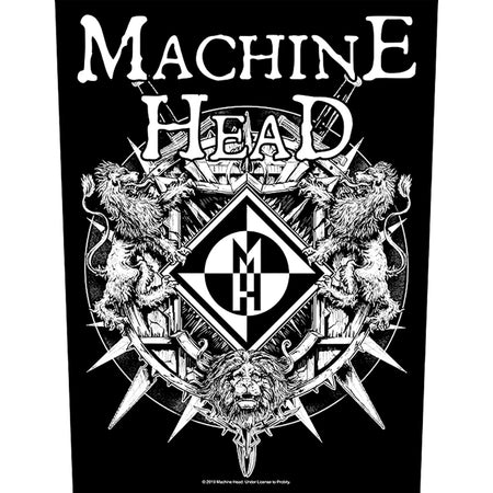 Machine Head - Crest - Back Patch