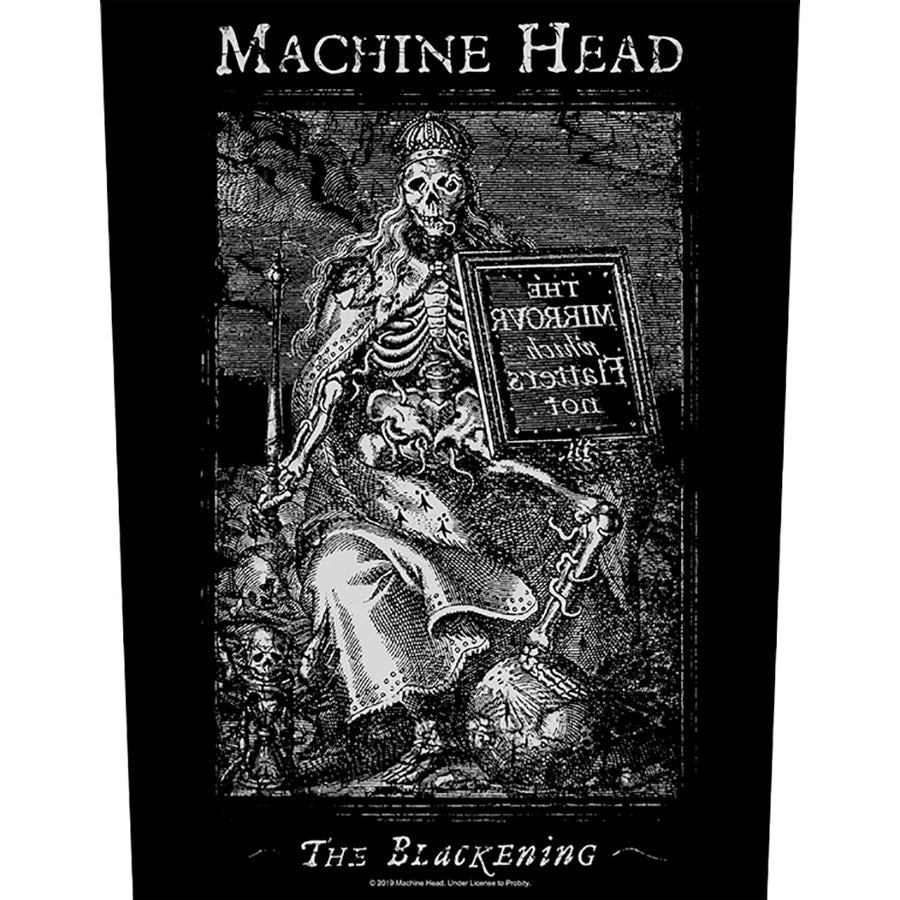 Machine Head - Blackening - Back Patch