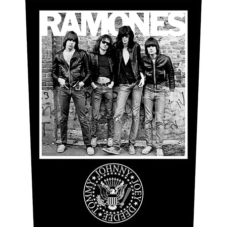 Ramones -1976 - Back Patch