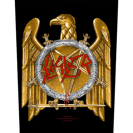 Slayer - Golden Eagle - Back Patch