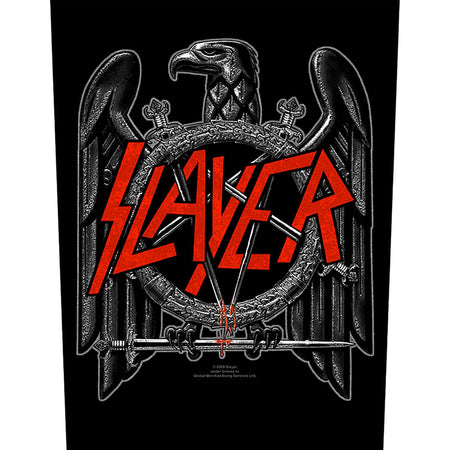 Slayer - Black Eagle - Back Patch