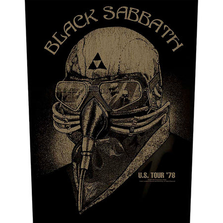 Black Sabbath - US Tour 1978 - Back Patch