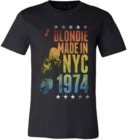 Blondie - Made In NYC - Black T-shirt