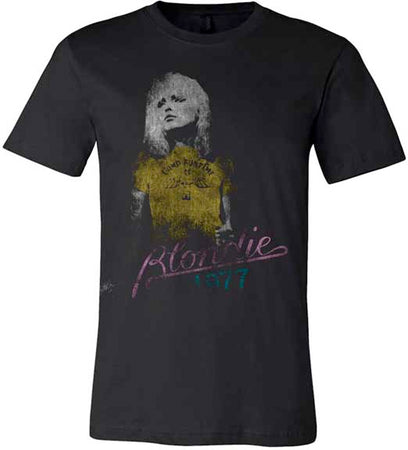 Blondie - Blondie 1977 - Black T-shirt