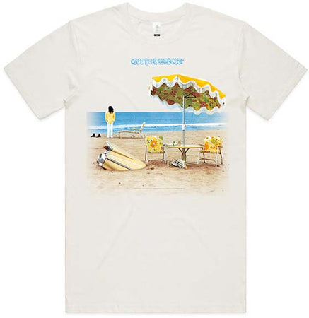 Neil Young - On The Beach  - Organic Cotton-Natural  t-shirt