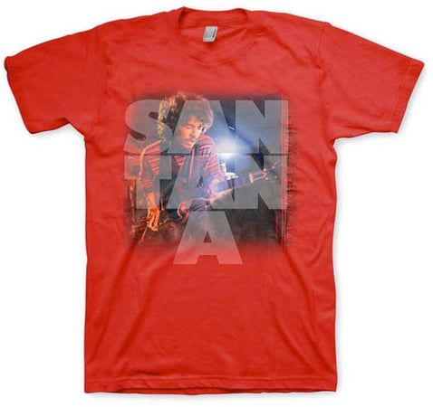 Santana - Mirage - Red t-shirt