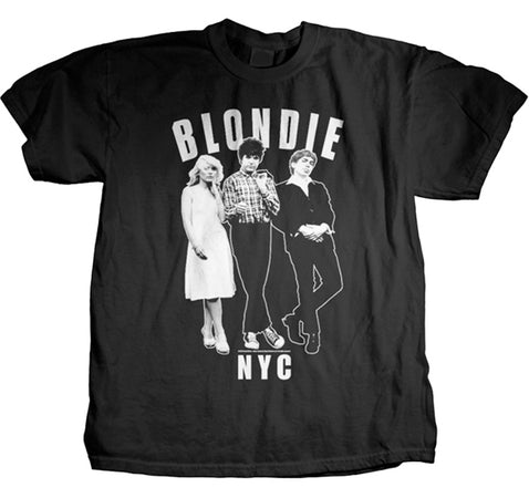 Blondie Against The Wall Lightweight T-shirt